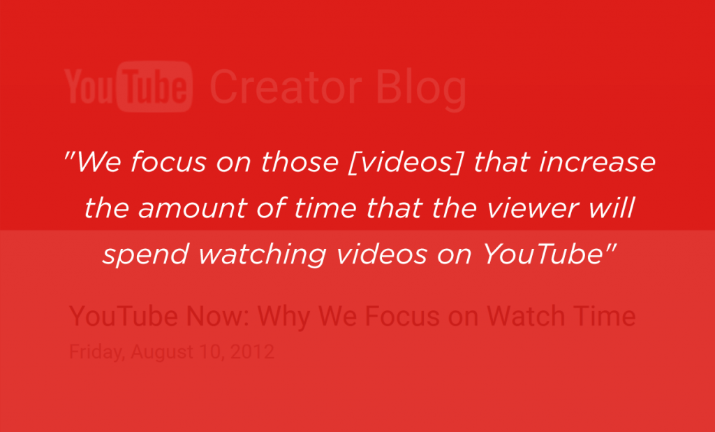 youtube video ranking