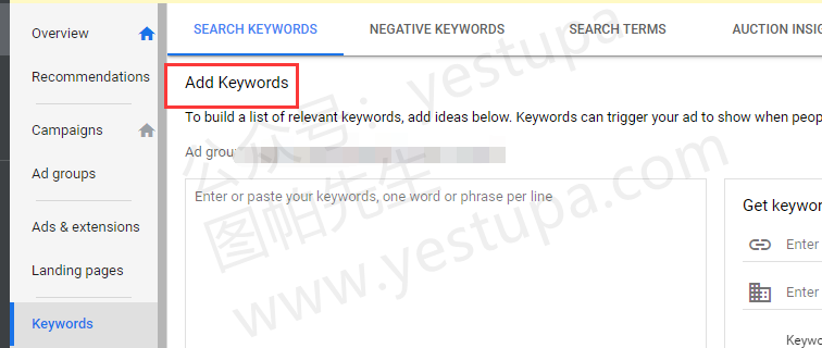 add-keywords
