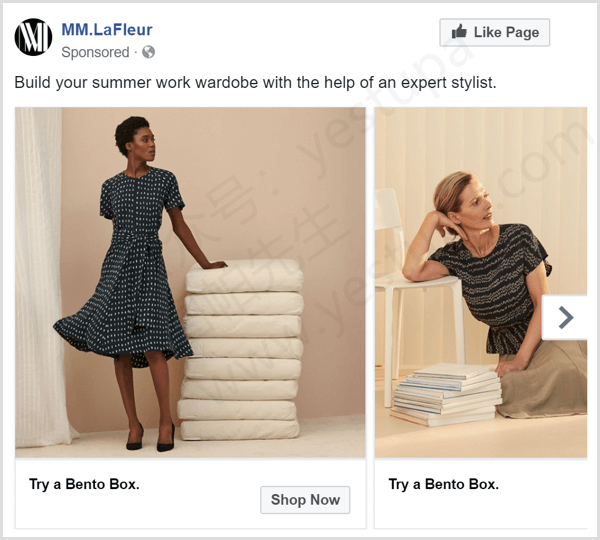 facebook-carousel-ad-example