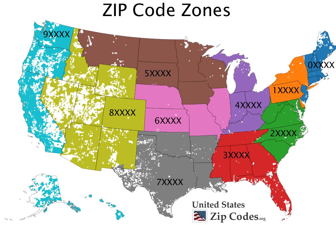 美国邮政编码