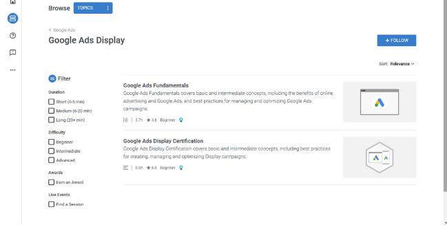 谷歌广告证书