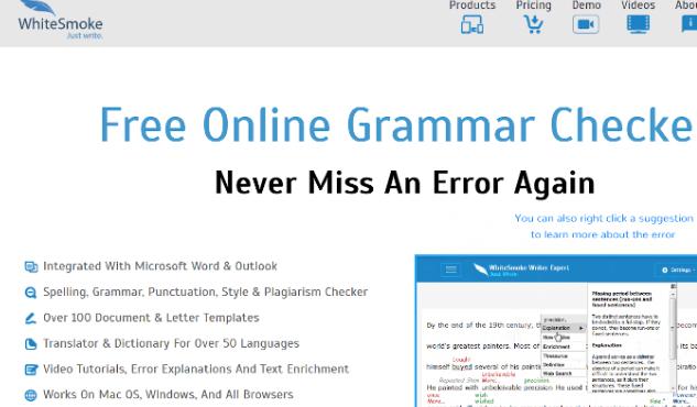 8大英语语法检查工具 - 免费语法检测工具