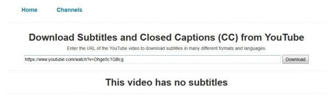"""个免费Youtube视频字幕下载工具"""""""