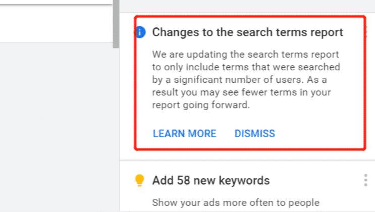 谷歌又搞事情?谷歌广告将限制搜索词报告!