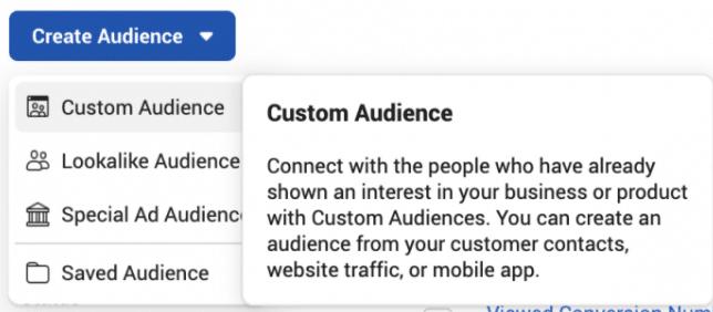 如何根据你的客户名单创建Facebook自定义受众?