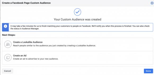 Facebook广告:如何针对和页面互动的受众设置自定义受众