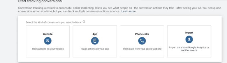 谷歌广告的转化跟踪设置步骤(Conversion Tracking)