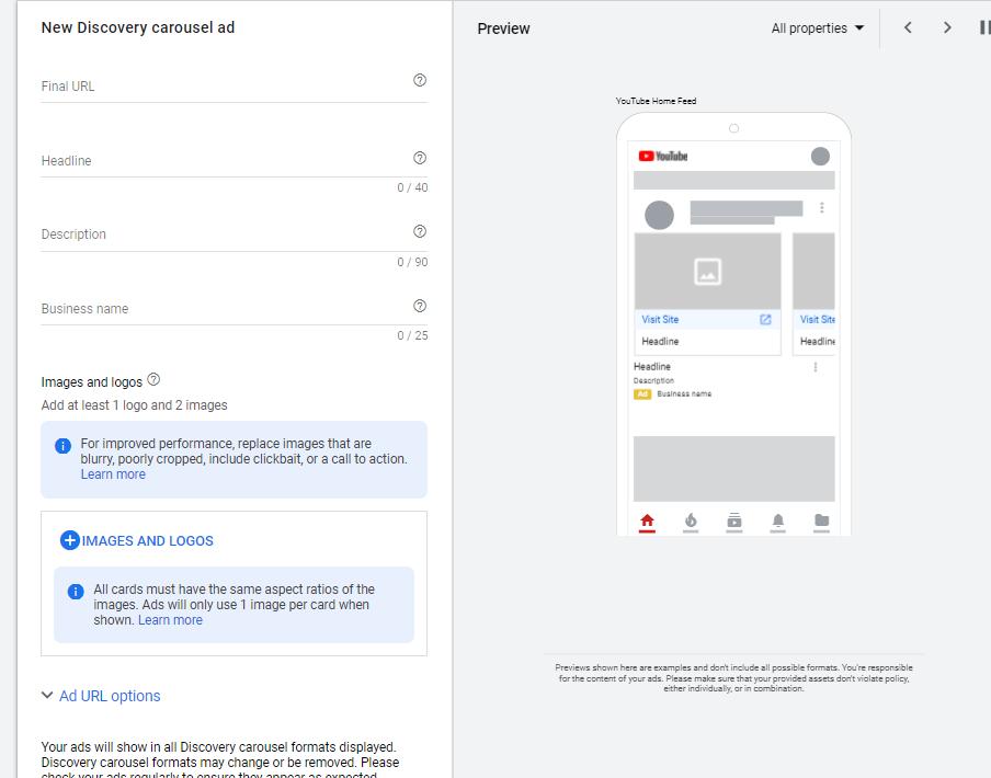 谷歌发现广告Google Discovery Ads介绍、效果和优化点